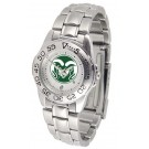 Colorado State Rams Sport Steel Band Men's Watch
