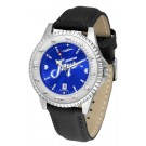 Creighton Blue Jays Competitor AnoChrome Men's Watch with Nylon/Leather Band