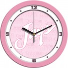 "Creighton Blue Jays 12"" Pink Wall Clock"