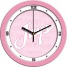 "Creighton Blue Jays 12"" Pink Wall Clock"