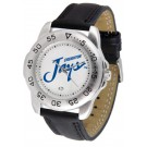 Creighton Blue Jays Men's Sport Watch with Leather Band