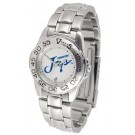 Creighton Blue Jays Ladies Sport Watch with Stainless Steel Band