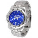 Creighton Blue Jays Sport Steel Band Ano-Chrome Men's Watch