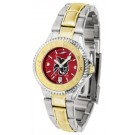 Central Washington Wildcats Competitor AnoChrome Ladies Watch with Two-Tone Band
