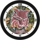 "Central Washington Wildcats 12"" Camo Wall Clock"
