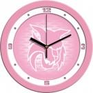 "Central Washington Wildcats 12"" Pink Wall Clock"