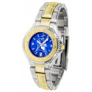 Duke Blue Devils Competitor AnoChrome Ladies Watch with Two-Tone Band by