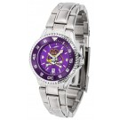 East Carolina Pirates Competitor AnoChrome Ladies Watch with Steel Band and Colored Bezel