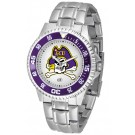 East Carolina Pirates Competitor Watch with a Metal Band