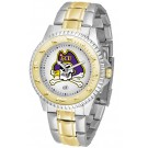 East Carolina Pirates Competitor Two Tone Watch