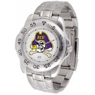 East Carolina Pirates Sport Steel Band Men's Watch