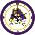 "East Carolina Pirates Traditional 12"" Wall Clock"