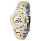 Eastern Kentucky Colonels Competitor Ladies Watch with Two-Tone Band
