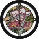 "Eastern Kentucky Colonels 12"" Camo Wall Clock"