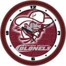 "Eastern Kentucky Colonels 12"" Dimension Wall Clock"
