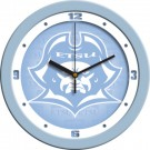 "East Tennessee State Buccaneers 12"" Blue Wall Clock"