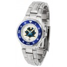 East Tennessee State Buccaneers Competitor Ladies Watch with Steel Band
