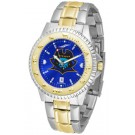 East Tennessee State Buccaneers Competitor AnoChrome Two Tone Watch