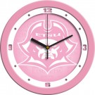 "East Tennessee State Buccaneers 12"" Pink Wall Clock"
