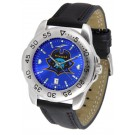 East Tennessee State Buccaneers Sport AnoChrome Men's Watch with Leather Band