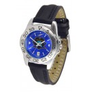 East Tennessee State Buccaneers Sport AnoChrome Ladies Watch with Leather Band
