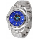East Tennessee State Buccaneers Sport Steel Band Ano-Chrome Men's Watch