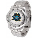 East Tennessee State Buccaneers Sport Steel Band Men's Watch
