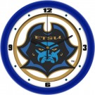"East Tennessee State Buccaneers Traditional 12"" Wall Clock"