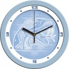 "Florida A & M Rattlers 12"" Blue Wall Clock"