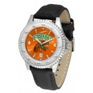 Florida A & M Rattlers Competitor AnoChrome Men's Watch with Nylon/Leather Band