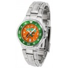 Florida A & M Rattlers Competitor AnoChrome Ladies Watch with Steel Band and Colored Bezel