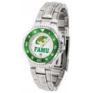 Florida A & M Rattlers Competitor Ladies Watch with Steel Band
