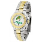 Florida A & M Rattlers Competitor Ladies Watch with Two-Tone Band