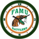 "Florida A & M Rattlers Traditional 12"" Wall Clock"