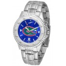 Florida Gators Competitor AnoChrome Men's Watch with Steel Band