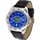 Florida Gators Sport AnoChrome Men's Watch with Leather Band