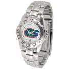 Florida Gators Gameday Sport Ladies' Watch with a Metal Band