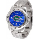 Florida Gators Sport Steel Band Ano-Chrome Men's Watch