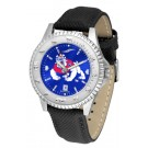 Fresno State Bulldogs Competitor AnoChrome Men's Watch with Nylon/Leather Band