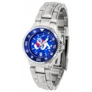 Fresno State Bulldogs Competitor AnoChrome Ladies Watch with Steel Band and Colored Bezel