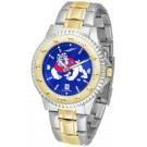 Fresno State Bulldogs Competitor AnoChrome Two Tone Watch