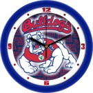 "Fresno State Bulldogs 12"" Dimension Wall Clock"