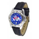 Fresno State Bulldogs Sport AnoChrome Ladies Watch with Leather Band