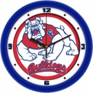 "Fresno State Bulldogs Traditional 12"" Wall Clock"