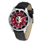 Florida State Seminoles Competitor AnoChrome Men's Watch with Nylon/Leather Band and Colored Bezel