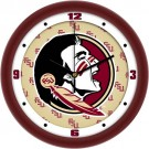 "Florida State Seminoles 12"" Dimension Wall Clock"