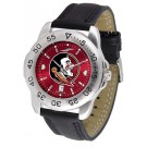 Florida State Seminoles Sport AnoChrome Men's Watch with Leather Band