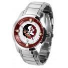 Florida State Seminoles Titan Steel Watch by