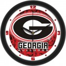 "Georgia Bulldogs 12"" Dimension Wall Clock"