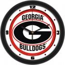 "Georgia Bulldogs Traditional 12"" Wall Clock"